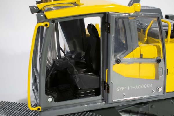 Volvo EC160E Crawler Excavator Full Metal RC Hydraulic-Volvo-Construction Equipment Full Function Radio Remote Control Hobby Scale Model