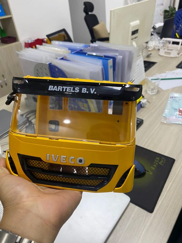 IVECO Tracker ABS Car Shell Body DIY Kit for 114 Tamiya and Lxyrc RC Truck